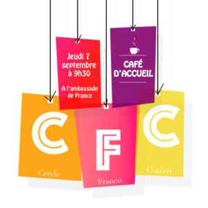 Café d'Accueil du CFC @ Ambassade de France   Seoul   Corée du Sud